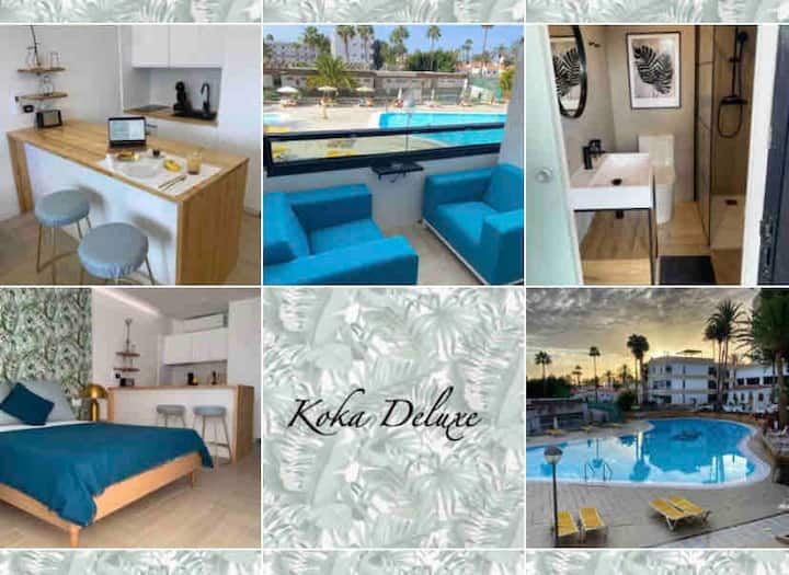 Koka Deluxe, Tropical-Chic design apartment