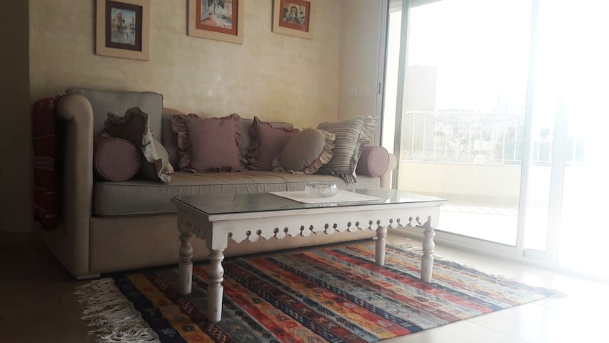 Appartement atypique et lumineux à Mahdia
