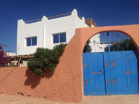 Double room in berber house, Tafedna