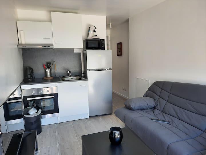 Petite maison  individuelle avec spa sans vis àvis