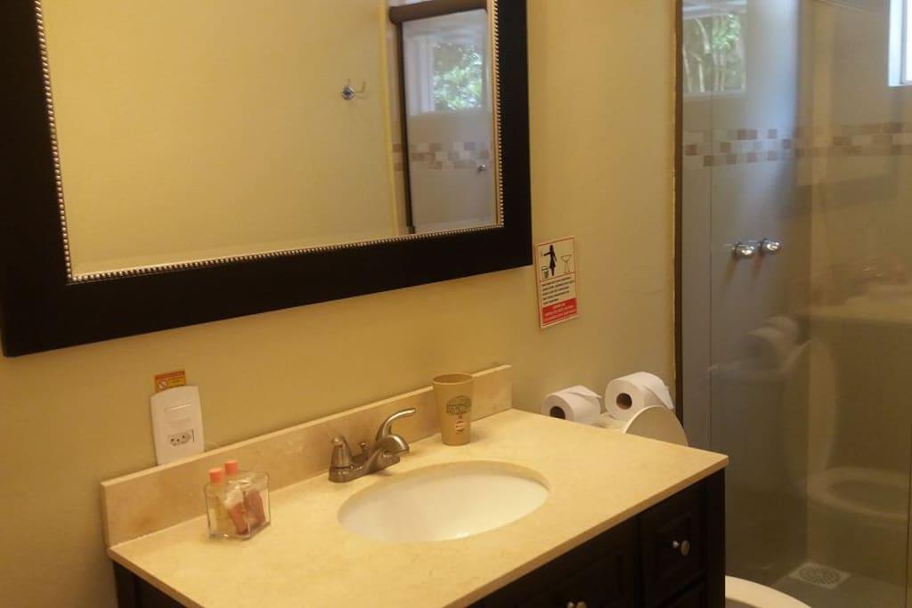 Banheiro Suite Standart com Box