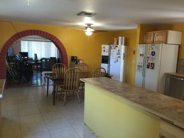 Remodeled common area kitchen