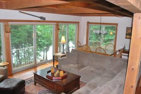 Luxury Lakeside Getaway - Newfield - House