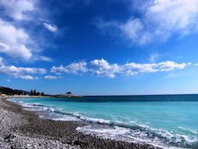 Ferienwohnung Italien Ligurien Berge Meer Strand