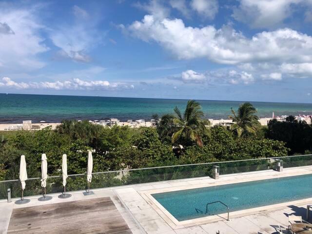 South Beach Luxury Building Direct Beach Acess