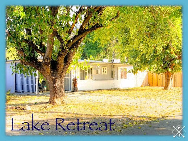 Lake Retreat, Entire Property