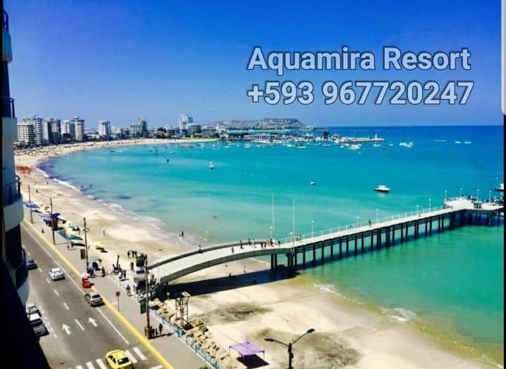 Salinas Beach, 7F Luxury Dept in Resort Aquamira