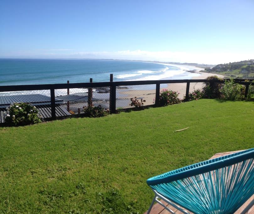 Expansive views of Ahipara & 90 Mile Beach