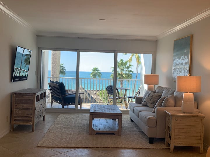 Beautiful coastal condo directly on the beach