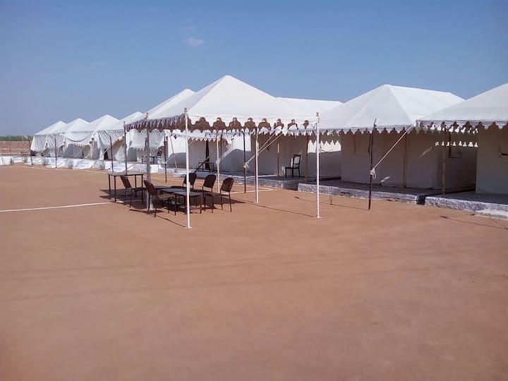 Deluxe Swiss Tent in Khuri Village, Jaisalmer