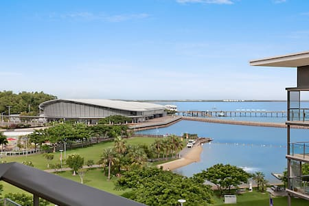 Two bedroom luxury apartment at Darwin Waterfront