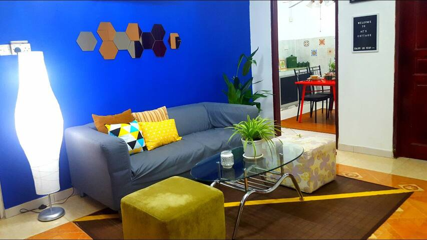 AZ cottage #3 bedrooms at Jalan Ban 3