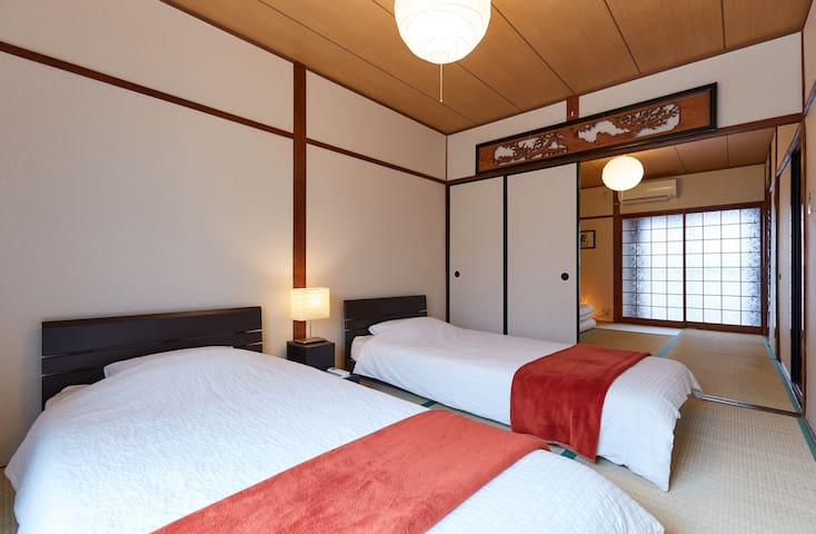 Family Tatami Home, Shin Osaka 2min & Convenient - Ósaka - Dům