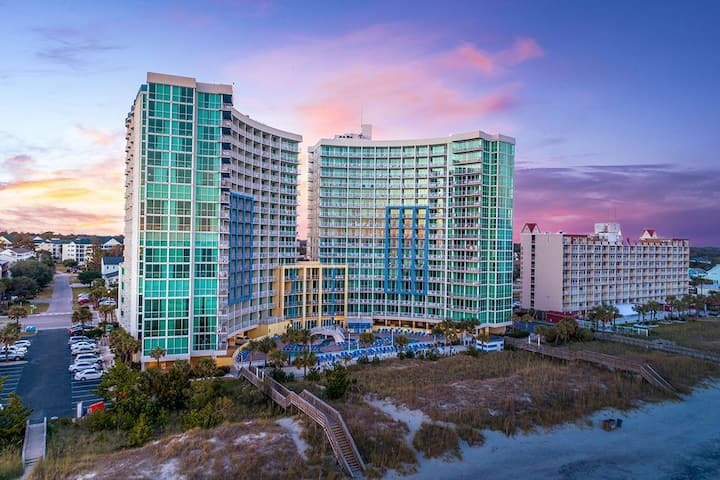 #1 Hotel in North Myrtle Beach, Oceanfront Condo