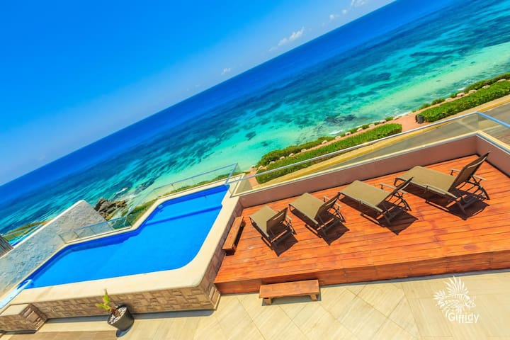 Spectacular PH Private Pool 4BD Isla Mujeres33 OV