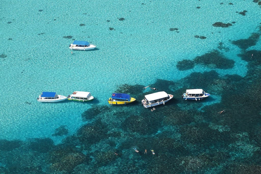 Parc marin de blue-bay