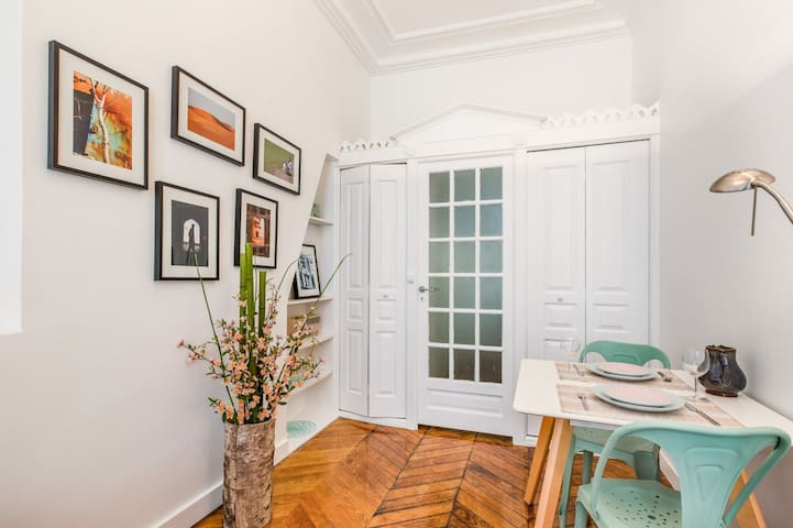 Nice studio for 2 near Louvre and Opera brand new! - Paris - Apartamento