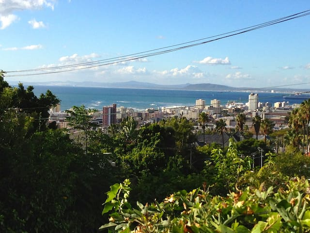 Sunny Garden Apartment with Sea View in Fresnaye - Cape Town - Leilighet