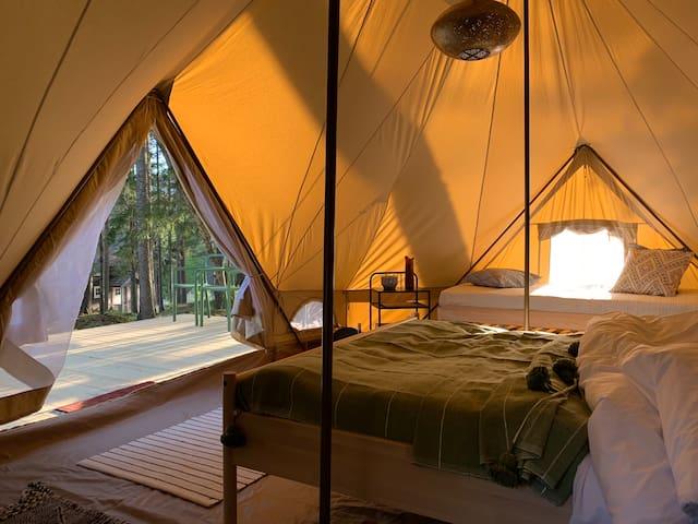 Breiva Gjestegaard & Glamping - Glamping tent