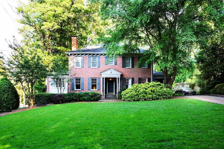 EMORY,CDC,Amazing Historic Mansion,5 BDR,SLEEPS 10