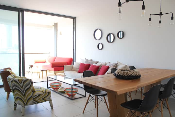 Chic & Modern 3 bdr/2bath apartment-Maon -Apt 245