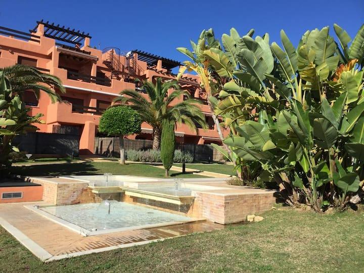 Front beach apartment in Estepona