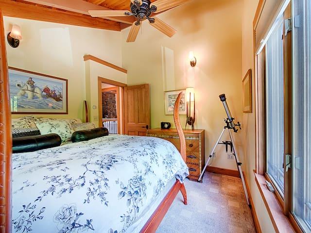 Bedroom #2. King bed, main floor.