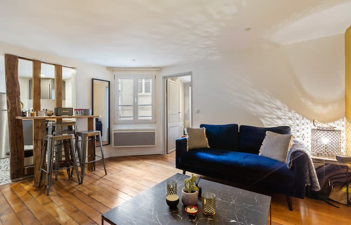 Pleasant apartment in the heart of Paris