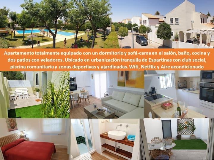 Apartamento turístico en Espartinas (Sevilla)