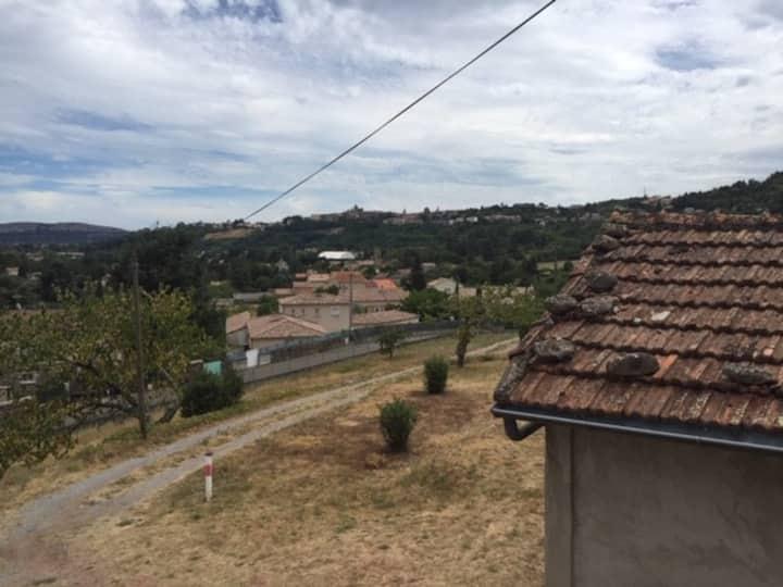 Séjour Ardèche vue idyllique ,emplacement idéal