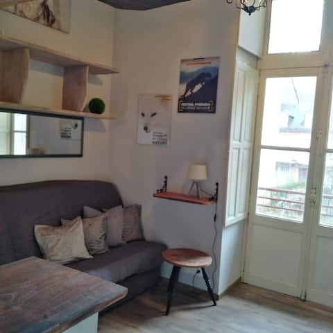 Charmant studio rénové à neuf