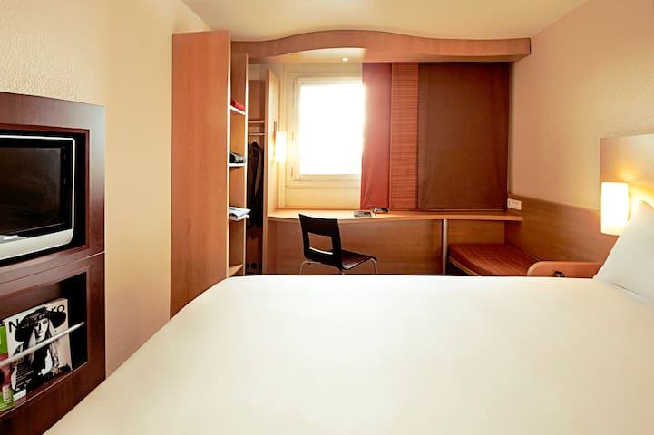 3 chambres Ibis pour 2 personnes
