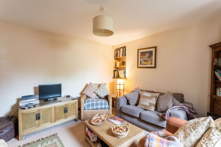 Lothlorien Cottage living room