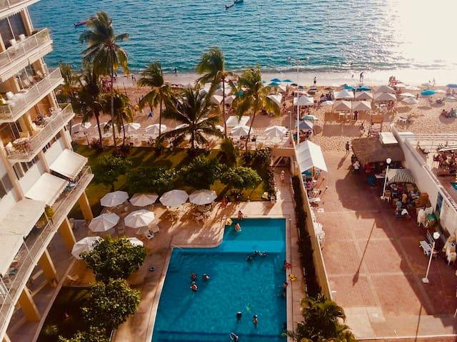 Departamento en la playa costa de Acapulco
