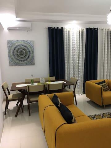 Appartement meublés 3 chambres + Salon
