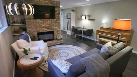 Scandinavian Design Apartment - One Bedroom