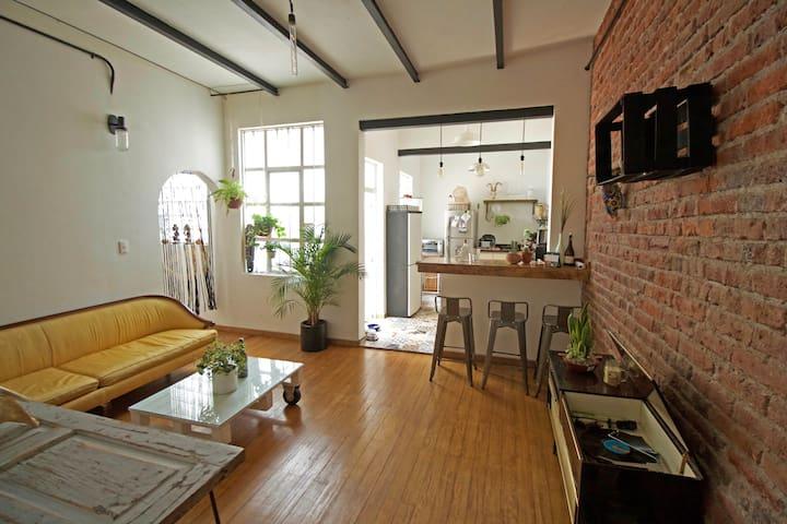 Bonito departamento de dos cuartos