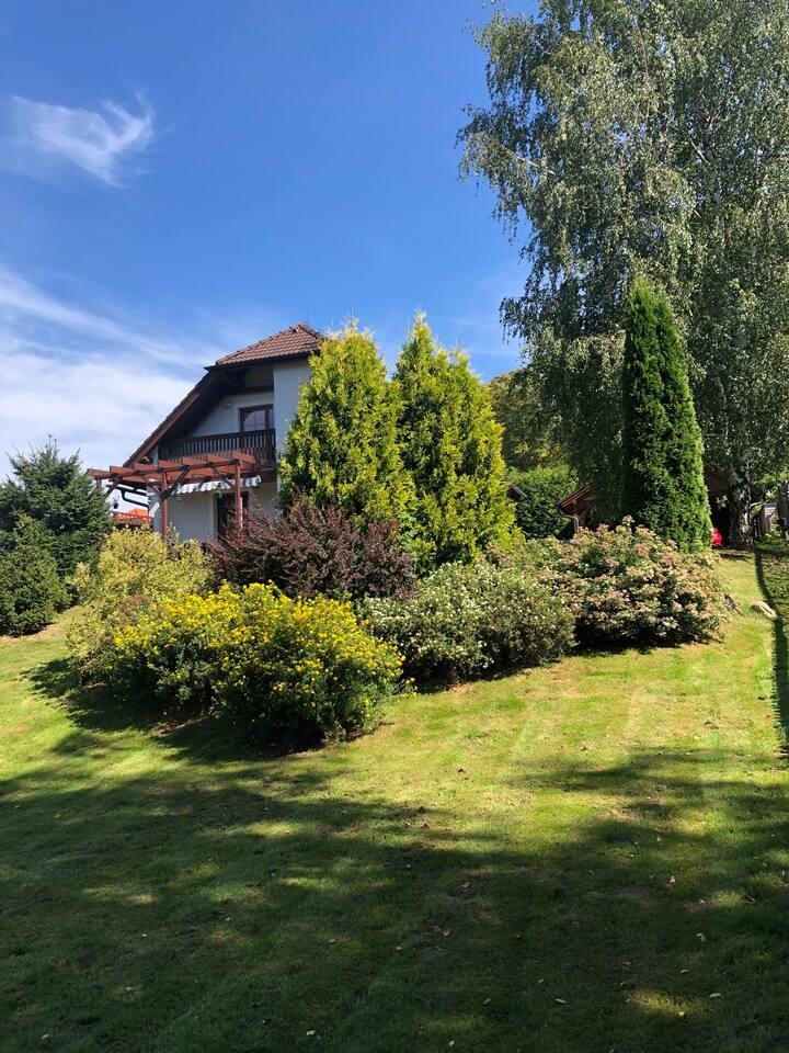 Nově zařízená villa v srdci Lipna nad Vltavou