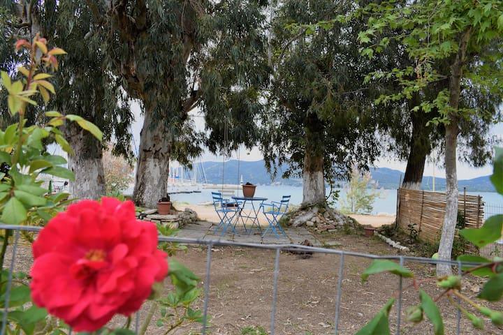 ZERVOS beachfront house!! ΣΠΙΤΙ ΔΙΠΛΑ ΣΤΗ ΘΑΛΑΣΣΑ! - Palairos - Huis