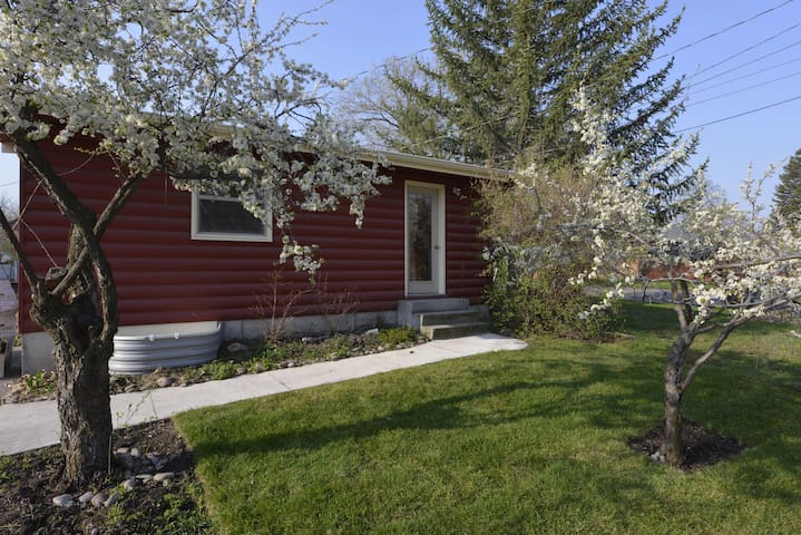 The Holmes Cabin - comfy, bright - Missoula - House