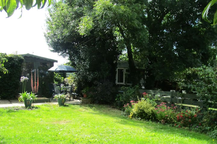 Family home in Gurnard village