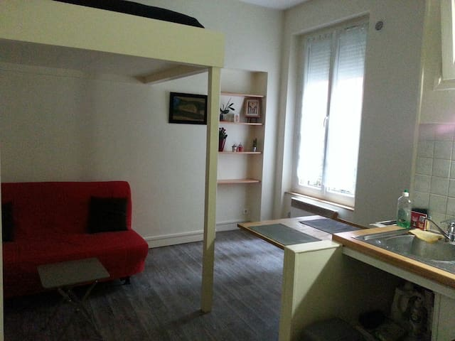 Quiet 20m² studio apartment recently renovated