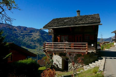 Old chalet, gorgeous view, extremely quiet