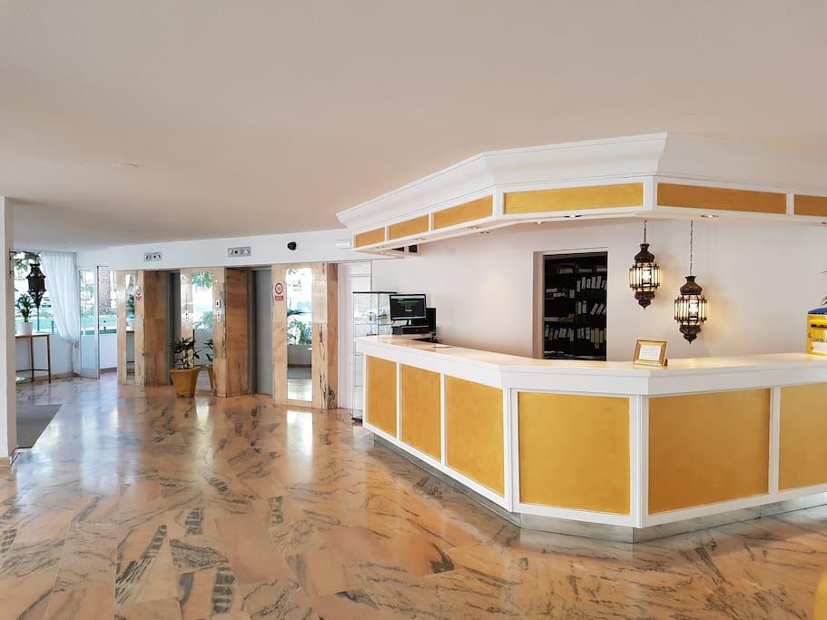 Hall dell'Hotel Ponderosa