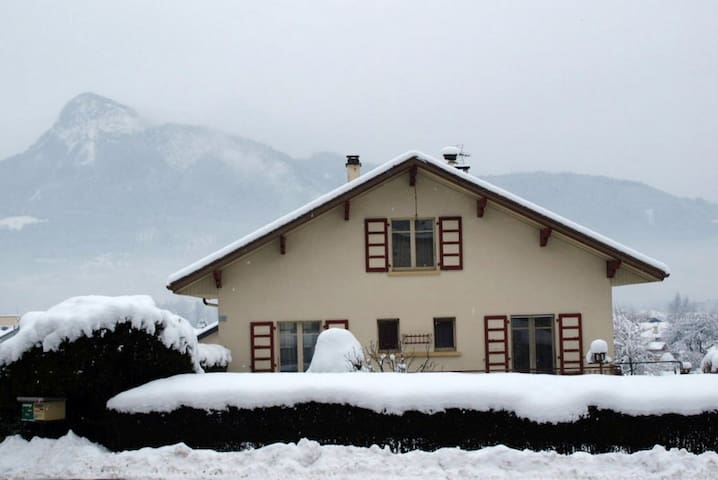 Villa 2 chambres avec terrasse et jardin privé - Marnaz - Huis