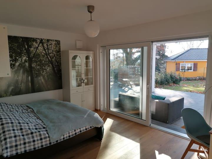 1-Zimmer Apartment mit Sauna und Chill-out Lounge