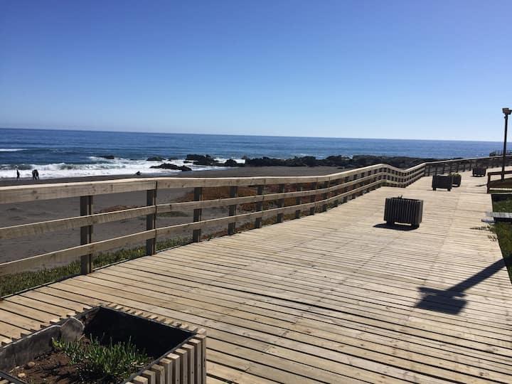 Casa Vista y acceso al Mar (jacuzzi)