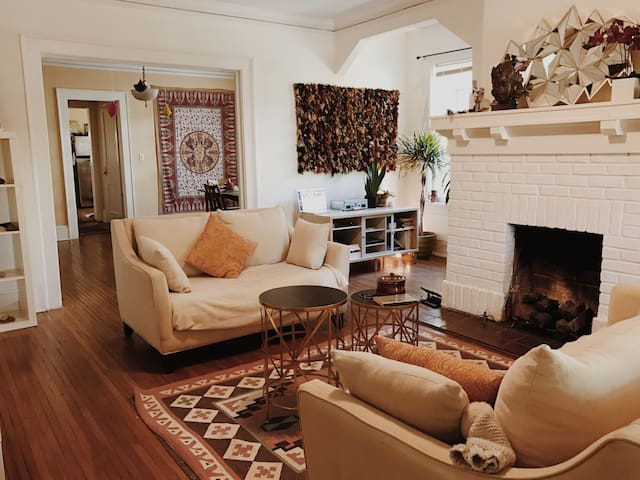 Private & serene room in gorgeous Inman Park home - Atlanta - House