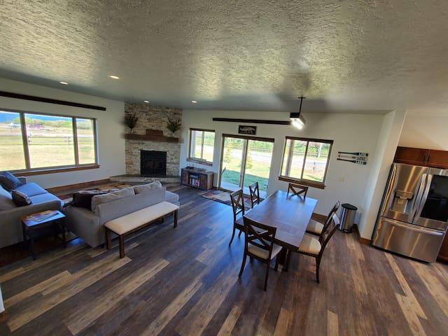 Modern main floor living space