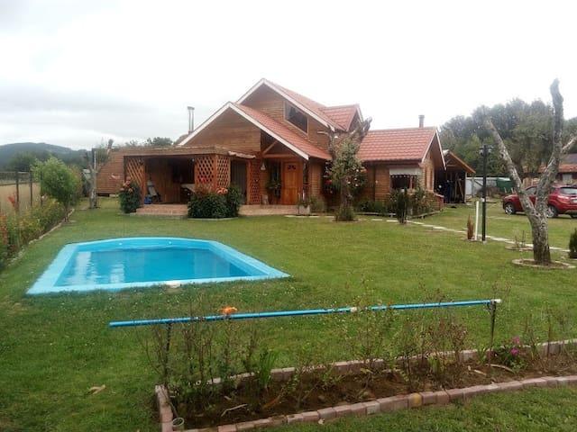 Casa de campo sur de Chile